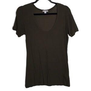 James Perse Plain cotton tee shirt buttery soft
